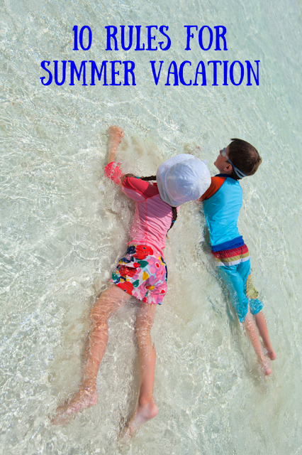 Summer vacation rules