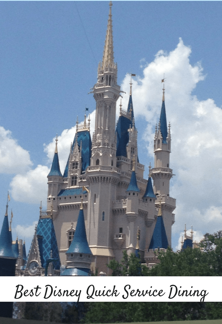 The Best Walt Disney World Quick Service dining options at all 4 Parks.