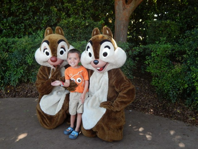 Chip and Dale Epcot