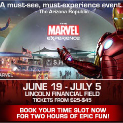 The Marvel Experience Comes to Philly and A Giveaway!