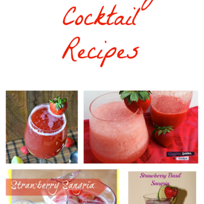 Strawberry Cocktail Recipes