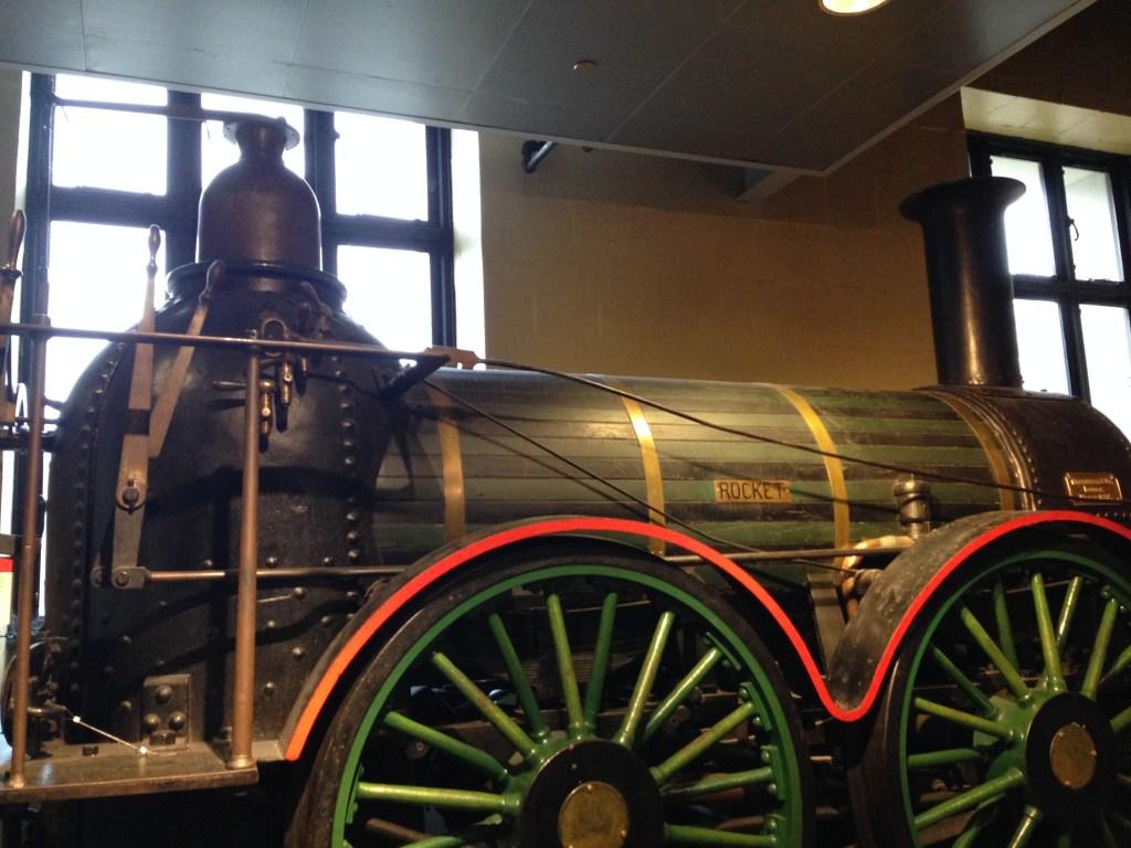 Train at Franklin Institute