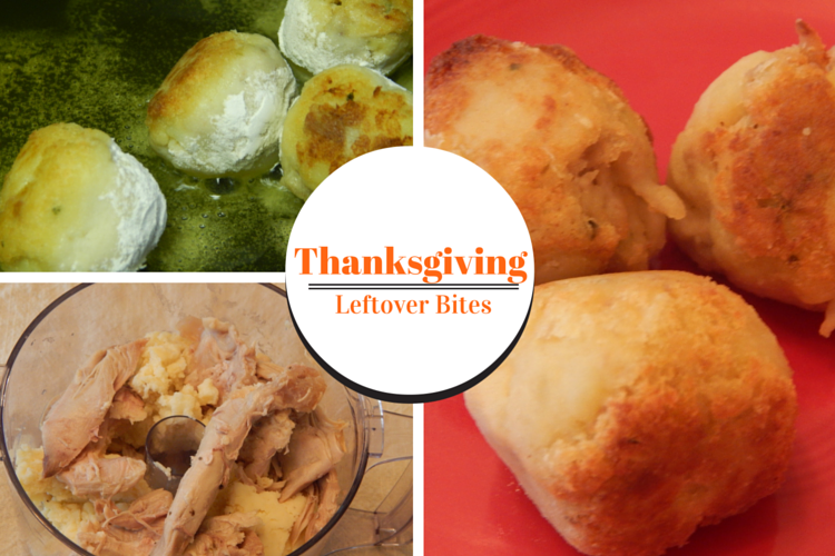 Turn your Thanksgiving Leftovers into a delicious appetizer or snack in a few simple steps.