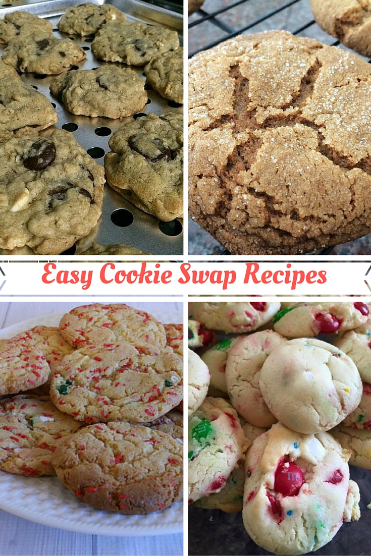 Easy Cookie Swap Recipes