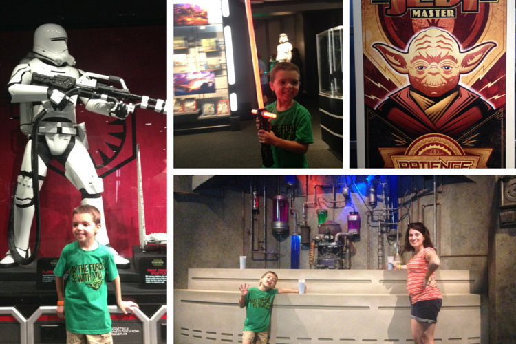 A few of the highlights of Star Wars Launch Bay