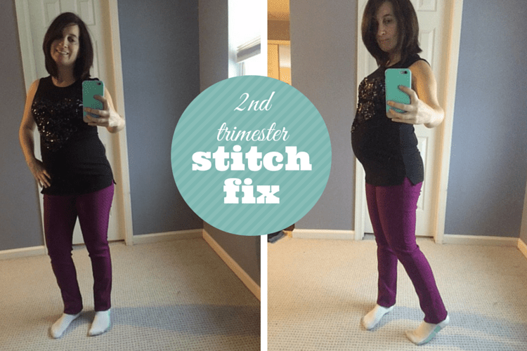 My second trimester maternity stitch fix