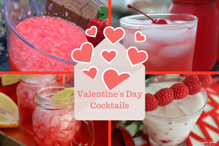 Valentine's Day Cocktails for a fun, flirty holiday treat.