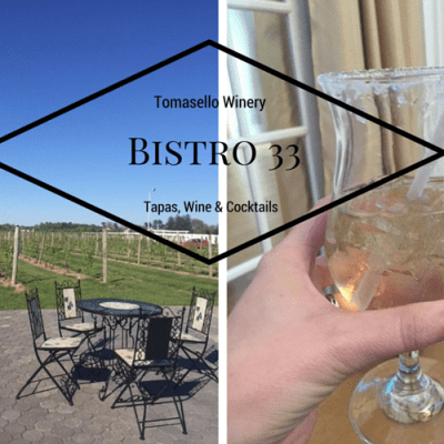 Bistro 33 Pops Up at Tomasello Winery