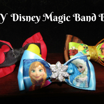 D.I.Y Disney Magic Band Bows