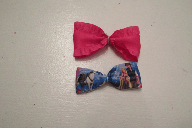 Two Magic Band bows