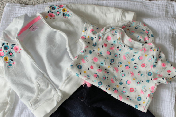 Carter's Little Jacket Sets, you can mix and match pieces to create more outfits