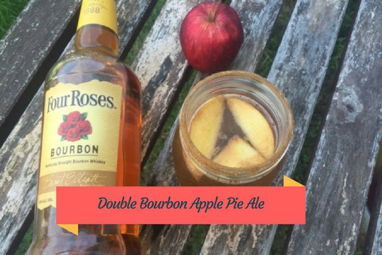A bourbon filled twist on a fall classic, this double bourbon apple pie ale is delicious.