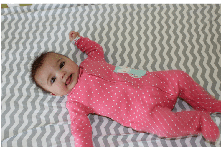 Carter's Sleep and Play outfits, perfect for bedtime or anytime.