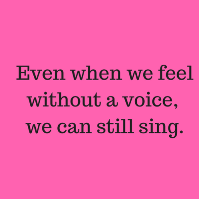 We Can Still Sing