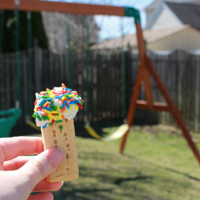 Frosted Shortbread Cookies: A No-Bake Spring Snack