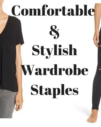 Comfortable and Stylish Wardrobe Staples
