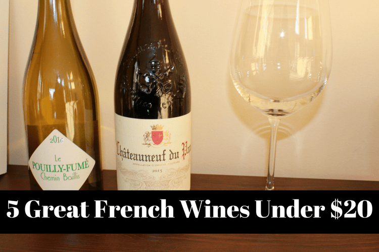 French wines under $20