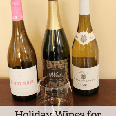 3 Holiday Wines for every Occasion
