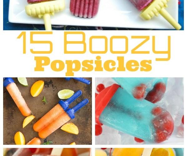 15 Boozy Popsicles