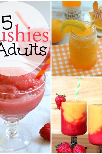 15 Slushies for Adults: Summer Cocktails