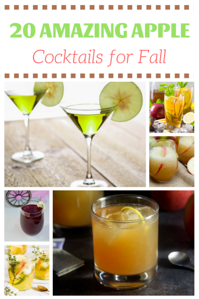 20 Amazing Apple Cocktails