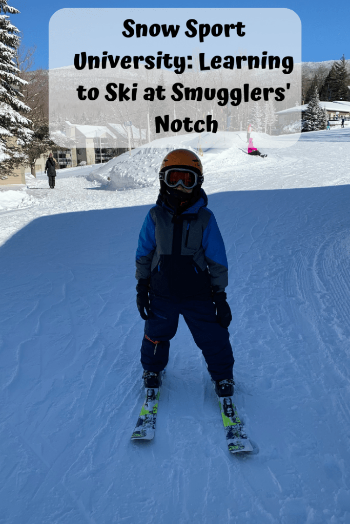 Learning to ski at Smugglers' Notch