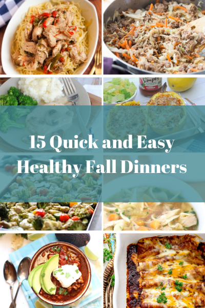 Quick and Easy Healthy Fall Recipes