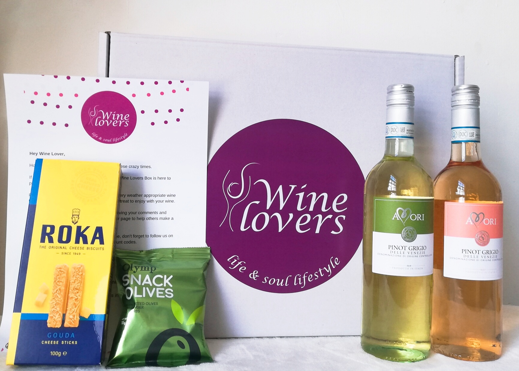 The new Wine Lovers Box is here!