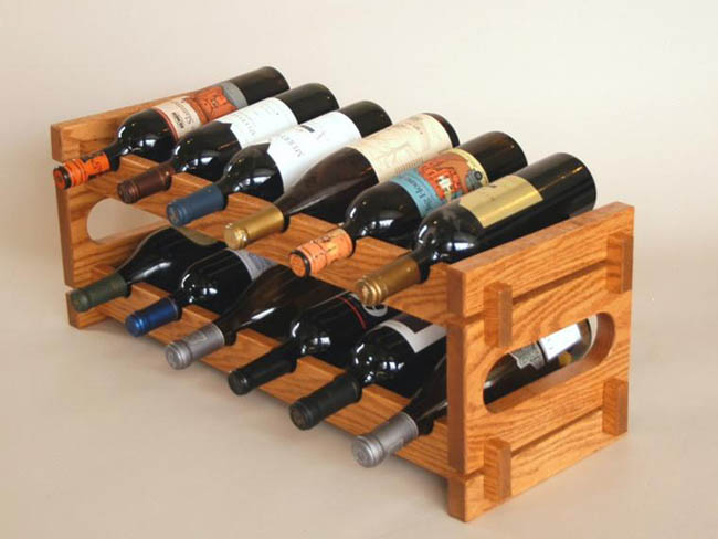 why you should use a wine rack wine