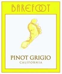 Barefoot Wine Label : barefoot, label, Barefoot, Pinot, Grigio, (California), Rating, Review, Enthusiast