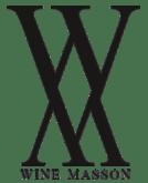 Logo noir wine masson avec légende.