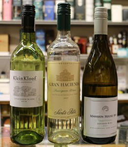 #5 Sauvignons Compared