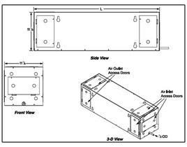 SSR Series Air-Cooled Split System Wine Cellar Cooling