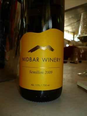 2009 Midbar Semillon-small