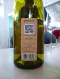 2010 Midbar Viognier - back label-small
