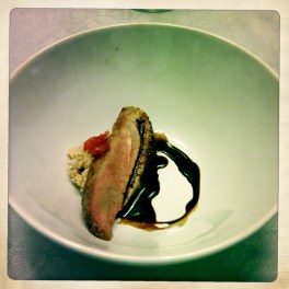 Duck Breast, Balsamic, Strawberry Reduction