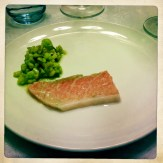 toro with fresh chickpeas, green olives. lotsa olive oil