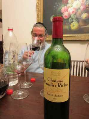 2011 Chateau Moulin Riche, Saint Julein and Pierre