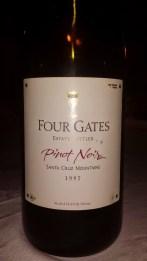 1997 Four Gates Pinot Noir