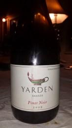 2008 Yarden Pinot Noir