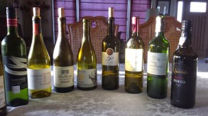 Wines enjoyed over the sabbath this past week