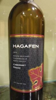 2012 Hagafen Cabernet Franc
