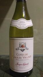 2014 Jacques Capsouto Vignobles Cotes de Galilee Village Cuvee Eva Blanc