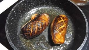 Pan seared duck in pan!
