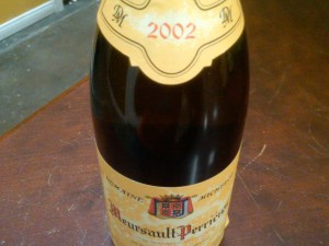 Domaine Michelot, Meursault, Les Perrières 1er Cru 2002 #1