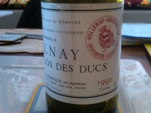 d'Angerville Volnay Ducs 1990 #2