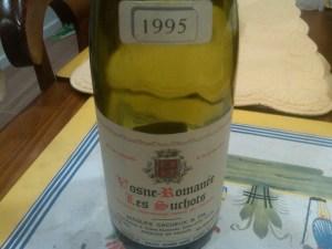 Jacques Cacheaux Vosne Romanee Suchots 1995 #1