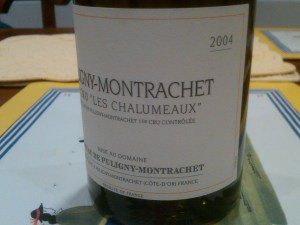 Chateau du Puligny Montrachet Puligny 2004 #3