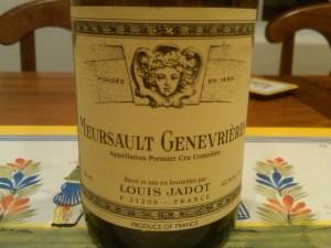 Jadot Meursault Gen 2004