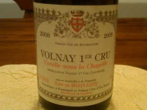 Louis Boillot Volnay 2008 #1
